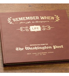 Washington Post Remember When Deluxe Book