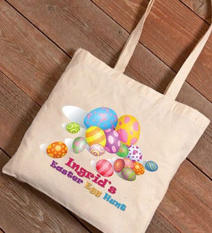 Easter Eggs Canvas Bag