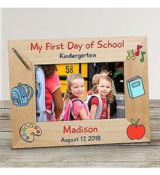 Personalized Back To School Frame