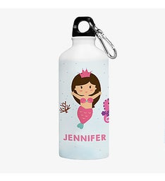 Mermaid Princess Personalized Water Bottle