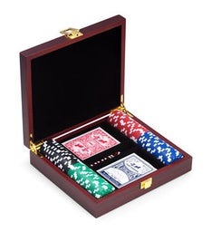 Personalized Poker Set