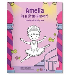 Im a Little Dancer Personalized Coloring Book