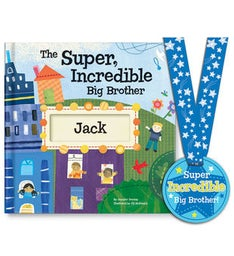 The SuperIncredible Big Brother Storybook  Medal