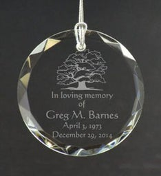 Memories of Dad Personalized Ornament