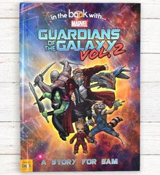 Personalized Guardians of the Galaxy 2 Storybook