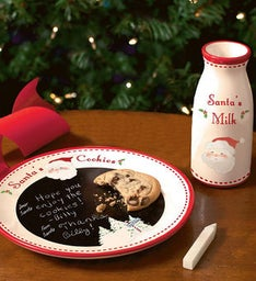 Personalized Santas Message Plate
