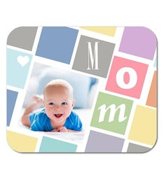 Personalized Cubist Mom Mouse Pad