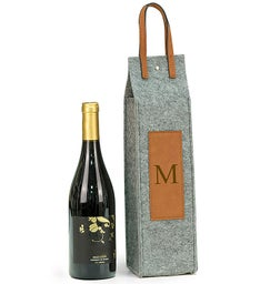 Personalized Felt Wine Caddy