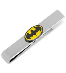 Transparent Enamel Batman Tie Bar