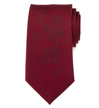 Lannister Lion Red Men's Tie
