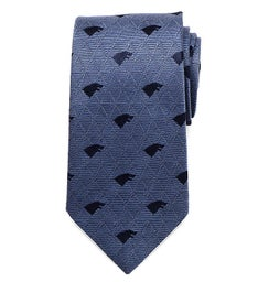 Stark Geometric Sword Blue Mens Tie