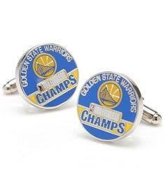 2018 Golden State Warriors NBA Champions Cufflinks