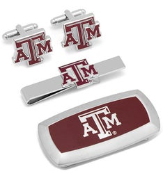 Texas AM Aggies 3-Piece Cushion Gift Set