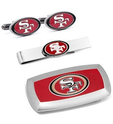San Francisco 49ers 3-Piece Cushion Gift Set