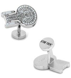TNG Enterprise Blue Print Cufflinks