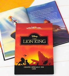 Personalized The Lion King Storybook