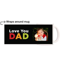 Personalized Love You Dad Magic Mug