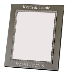 Personalized Wide Border Glitter Galore Frame