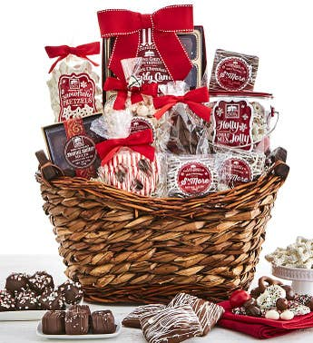 Long Grove Comforts of Christmas Gift Basket