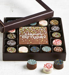 Simply Chocolate Birthday Bar & Truffles