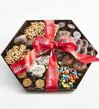 Simply Chocolate Celebration Gift Tray