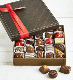 Neuhaus Belgian Chocolate Luxury Leather Box 25 pc