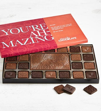Simply Chocolate Youre Amazing Personalized  Box