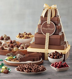Harry and David Tower of Chocolates Gift - Deluxe