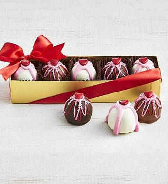 The Sweet Shop Valentine Truffle Flight Box