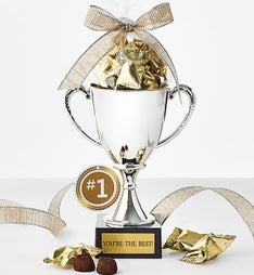 You're the Best! Trophy with French Chocolates