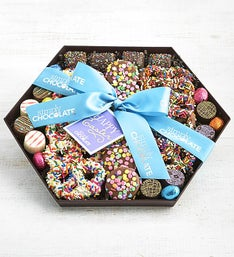 Simply Chocolate Happy Easter Snack Tray