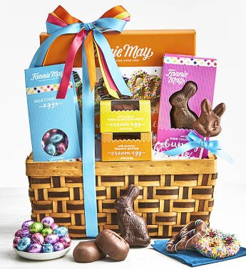 Fannie May Deluxe Chocolates Easter Basket