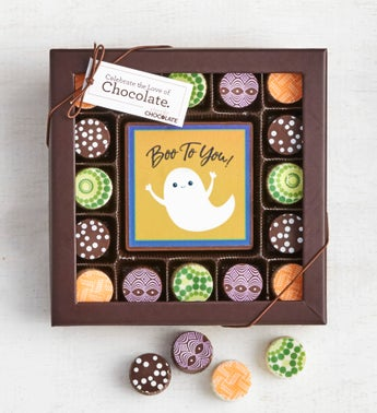 Simply Chocolate Happy Halloween Bar  Truffles