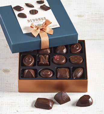 Neuhaus All Dark Assorted Belgian Chocolates 12 pc
