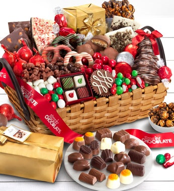 Simply Chocolate Celebrate the Season Basket