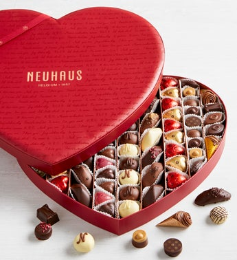 Neuhaus Belgian Chocolate Heart Box