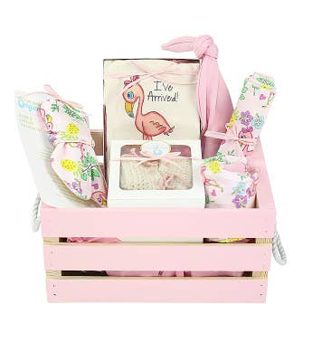 Organics Gift Crate in Pink