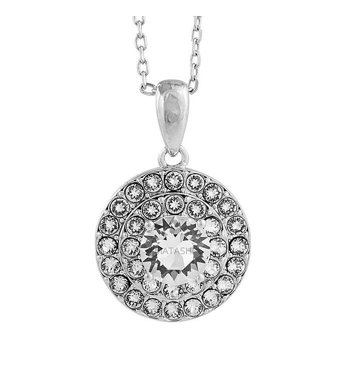 Triple Concentric Circle Design Necklace