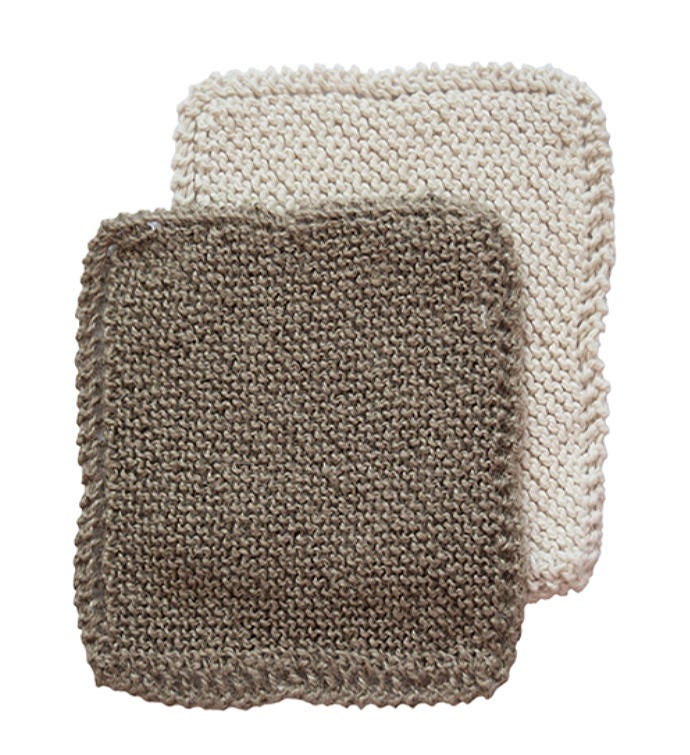 Organic Cotton  Natural Jute Scrub Cloths