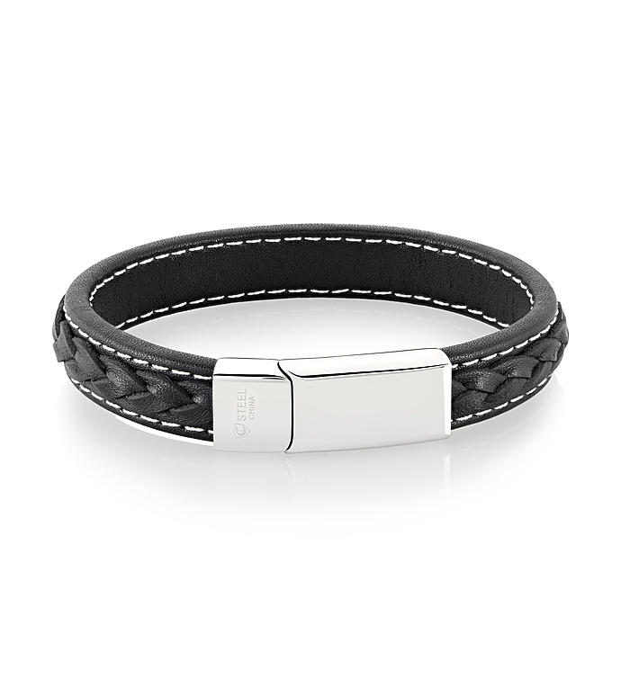 Double Layer Genuine Leather Bracelet