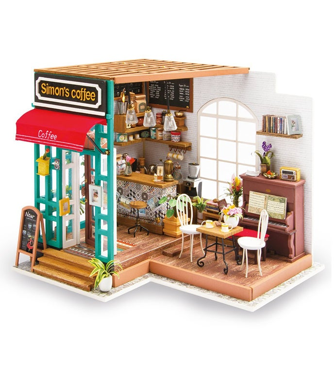 Diy Dollhouse Kit - Simon39s Coffee Shop