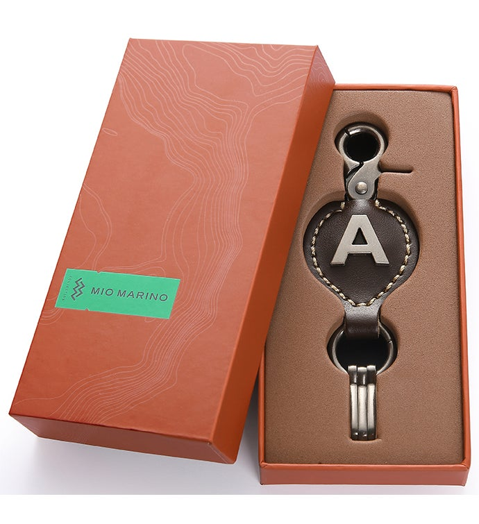 A To Z Vintage Leather Key Chain