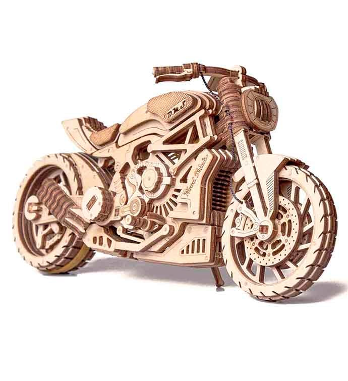 Motorcycle 3D Wood Puzzle