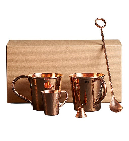 Pure Copper Mule Gift Set