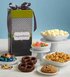 Simply Stated™  Congratulations Tall Snack Box