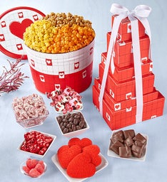Be My Valentine Tin & Tower