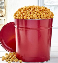 Simply Red 6-1/2 Gallon Pick-A-Flavor Popcorn Tins