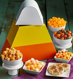 Candy Corn Snack Box