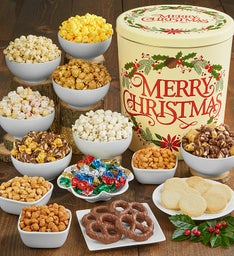 Merry Christmas Deluxe Snack Assortment
