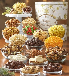 Gold Snowflake Premium Snack Assortment